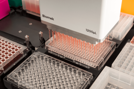 робот biomek серии i